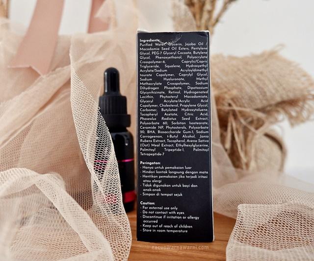 Ingredients Retinol Serum LT Pro
