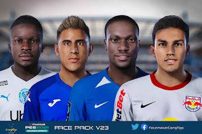 PES 2021 FacePack V23 by CongNgo