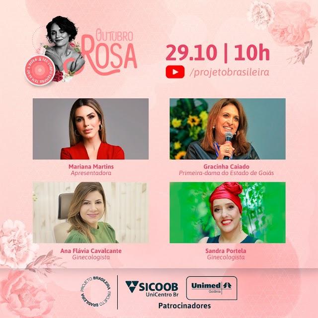 O Projeto Brasileira promove live sobre a conscientização e prevenção ao câncer de mama