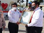 Kapolres Bukittinggi Bersama Personel Terima Penghargaan Kornas TRC PPA