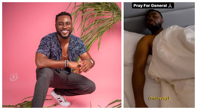 #BBNaija Pere gets Hospitalized hours after fans Surprised him (Video)