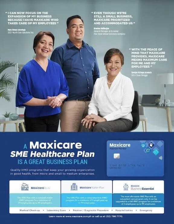 Marvin Agustin explains why he only believes in Maxicare SME Healthcare Plans.