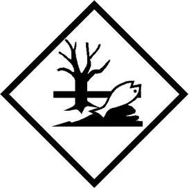 Environmentally Hazardous Substances Hazard Label