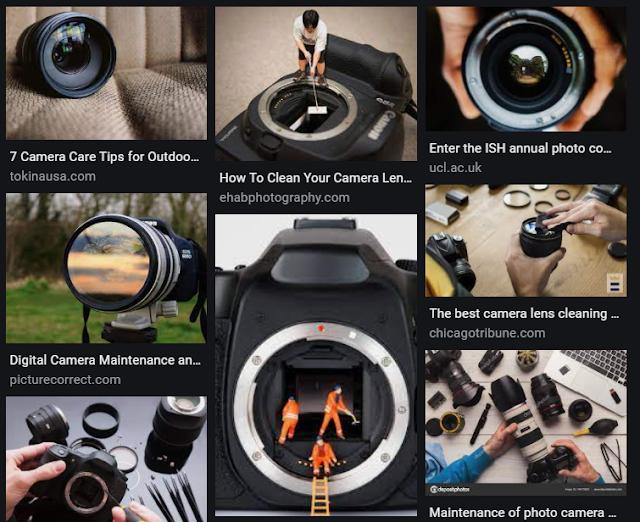 Camera Care Tips