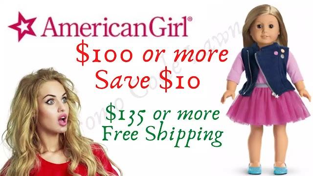 American Girl Coupon - $10 Off w/2022 Promo Code