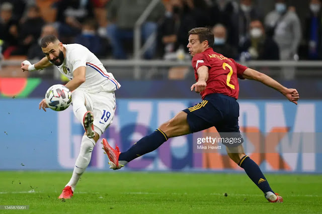 Benzema equalize for France