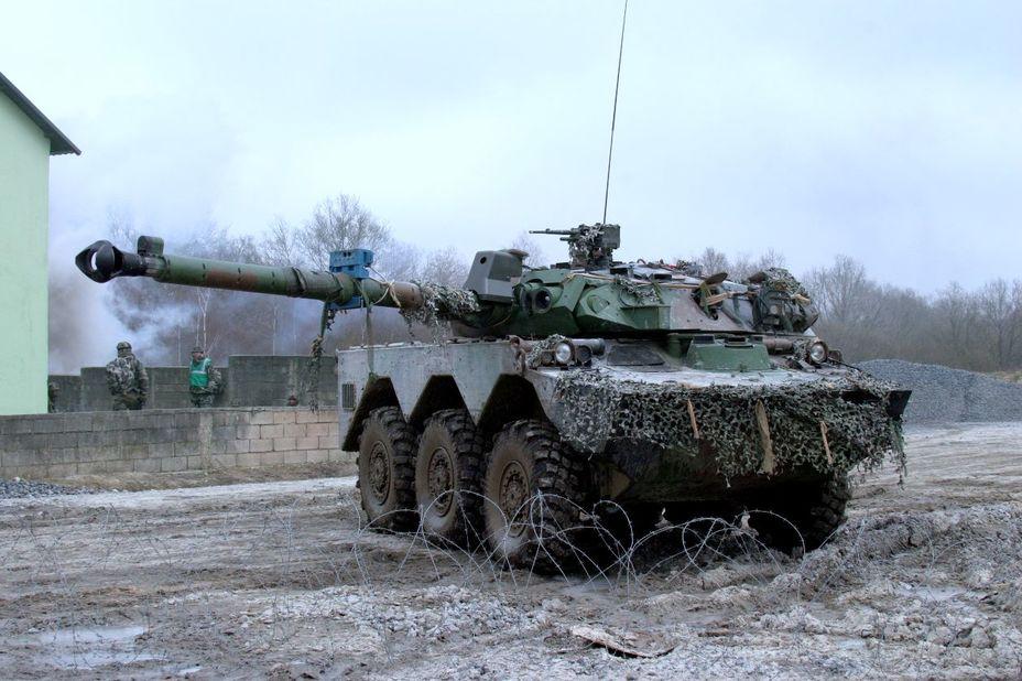 AMX-10RC 1-го полку спагі, 2006 рік