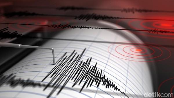 Gempa Bumi M 4,9 Guncang Garut