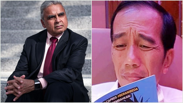 Profesor Singapura Puji Jokowi Jenius, Rocky Gerung: Itu Menghina Presiden
