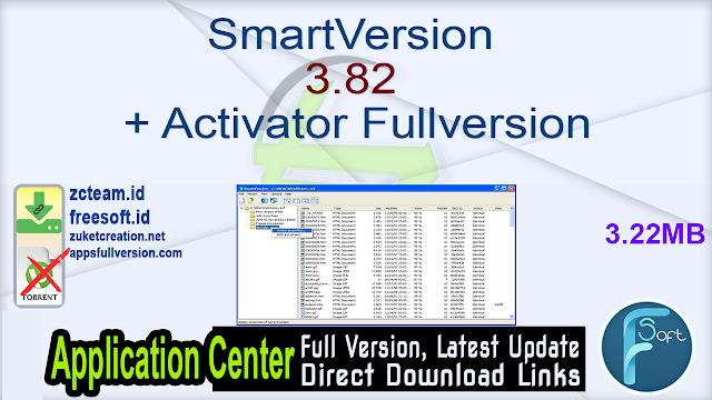 SmartVersion 3.82 + Activator Fullversion