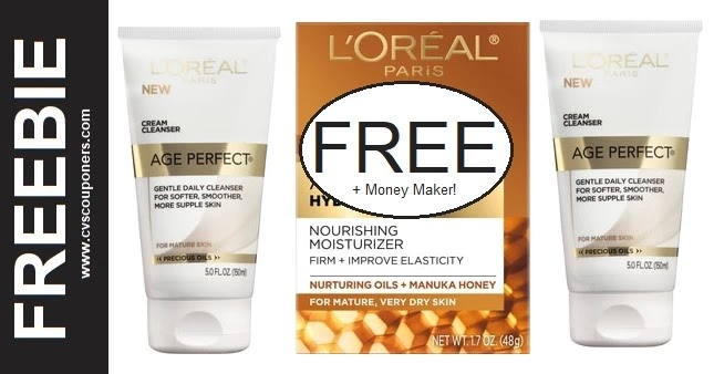 FREE L'Oreal Age Perfect Moisturizer at CVS 10/10-10/16