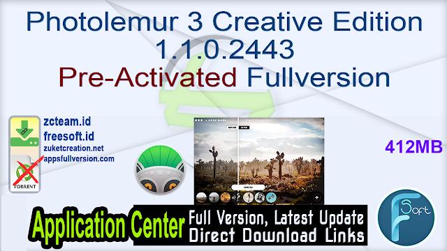 Photolemur 3 Creative Edition 1.1.0.2443 Pre-Activated Fullversion