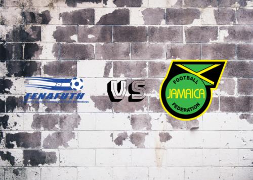 Honduras vs Jamaica  Resumen