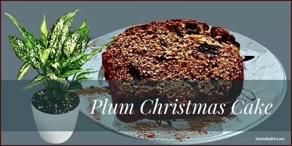 How to make traditional Plum Christmas Cake.