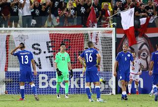 Κύπρος 2-2 Μάλτα «Αυτοκτονία στο 90+9' και παραμένει στη τελευταία θέση»