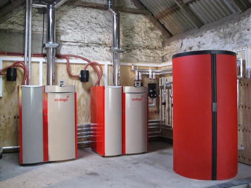 Instalación caldera de pellets en Asturias