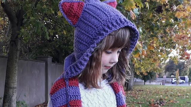 APRENDE A TEJER GRATIS Capucha para Niños a Crochet