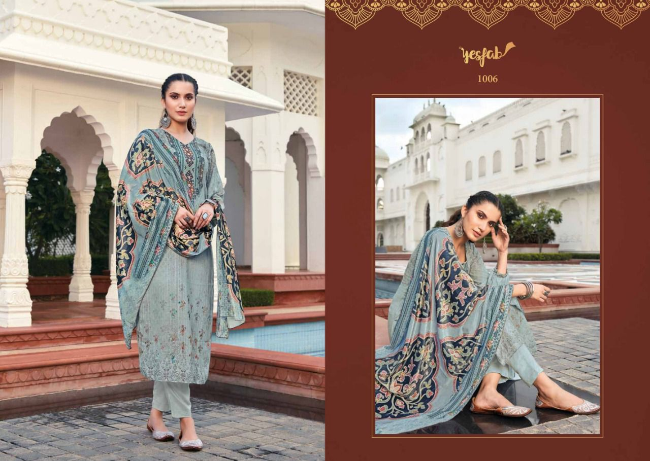 Yesfab Zathrian Salwar Suits Catalog Lowest Price