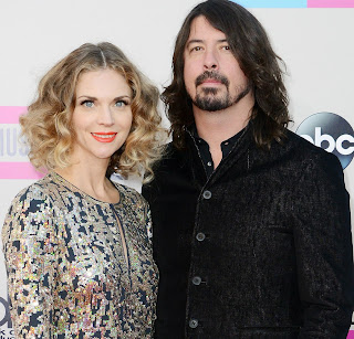 Picture of Harper Willow Grohl Mom and Dad