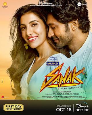 Sanak Movie (2021) Filmyzilla, Filmywap, Tamilrockers, Movie4u.
