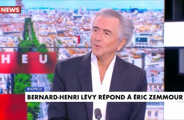 [VIDEO] Traité de « traître » par Eric Zemmour, Bernard-Henri Lévy réplique ! #HDPros