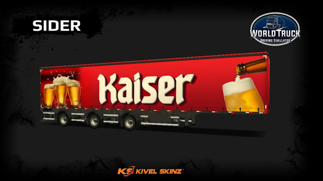 SIDER - CERVEJA KAISER