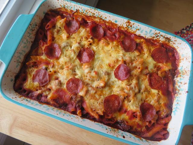 Easy Pizza Casserole