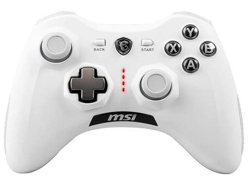 MSI Force GC30 V2 White Wireless Dual Vibration Controller