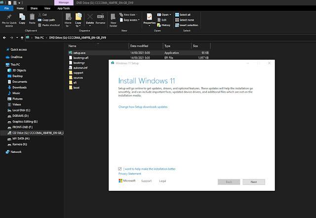Cara install windows 11 tanpa flashdisk
