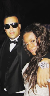 Deen Kharbouch with her ex-spouse French Montana