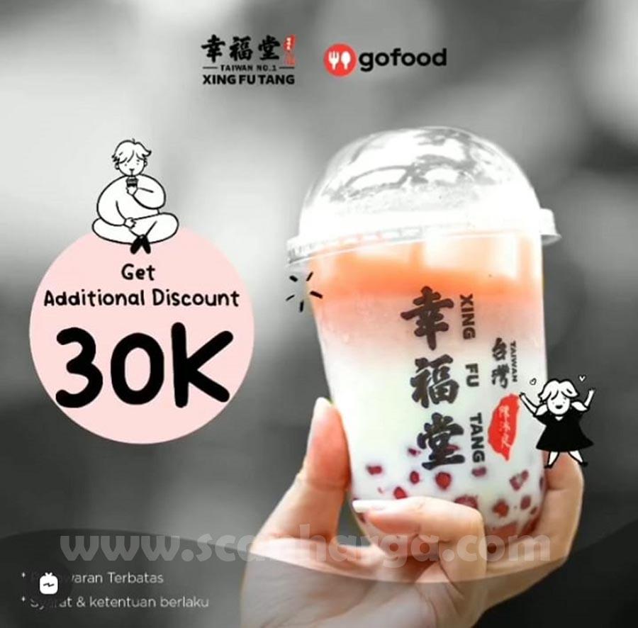 Promo XING FU TANG DISKON Rp. 30.000 via GOFOOD
