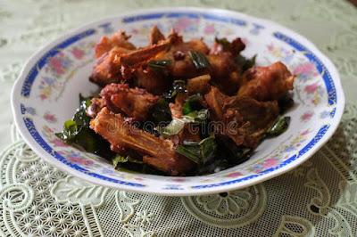 Resep ayam tangkap Aceh