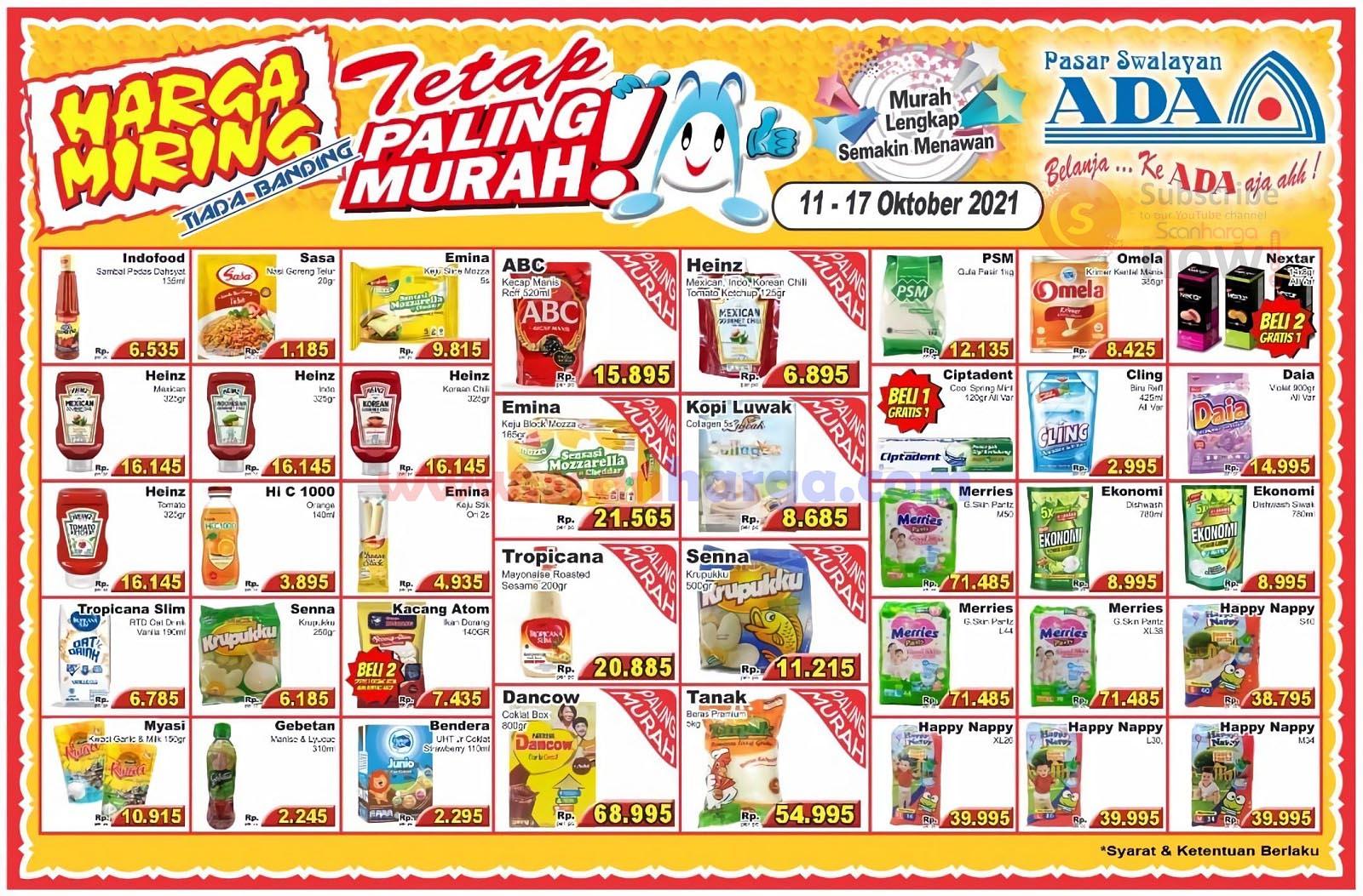 Katalog Promo ADA Swalayan Weekend 11 - 17 Oktober 2021