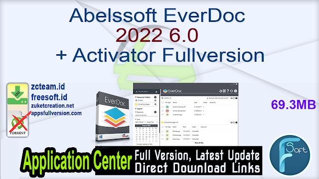 Abelssoft EverDoc 2022 6.0 + Activator Fullversion
