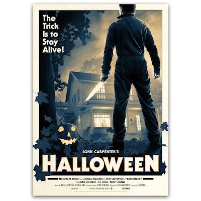 Halloween Movie Poster Print by Matt Ferguson x Vice Press