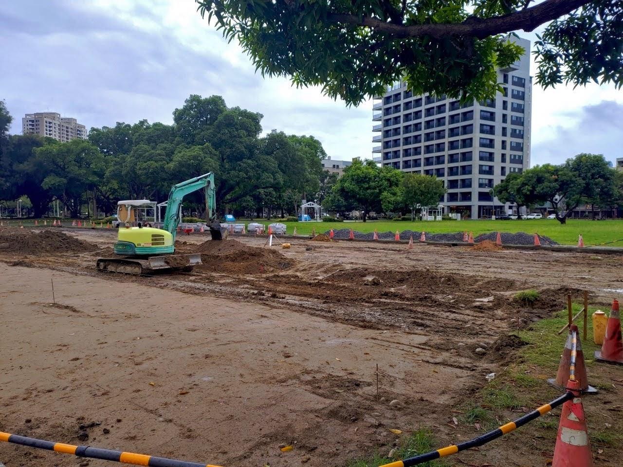 開元轉運站不蓋了 原台南美國學校綠地被建設公司標走