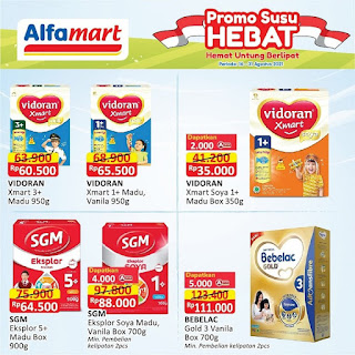 katalog promo label susu alfamart