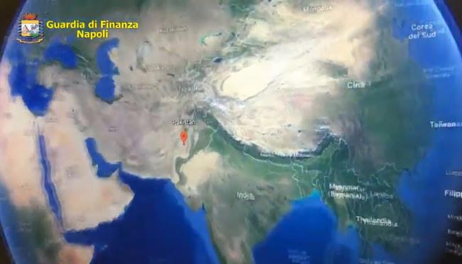 Napoli Sezione Antiterrorismo: custodia cautelare in carcere per 7 soggetti di nazionalità pakistana per ricettazione e contraffazione di documenti di identità