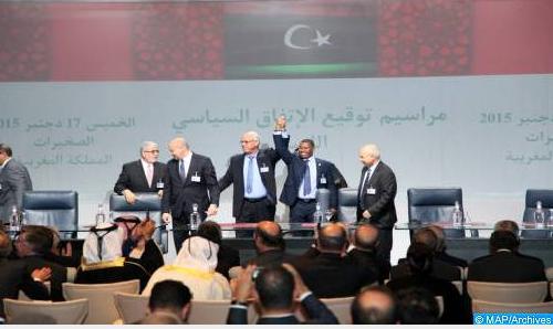 الملف الليبي.. مجلس حقوق الإنسان يبرز أهمية اتفاق الصخيرات والنتائج الإيجابية للاجتماعات المنعقدة في المغرب