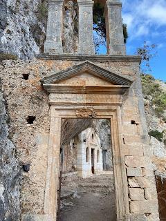 Katholiko Monastery - entrance.