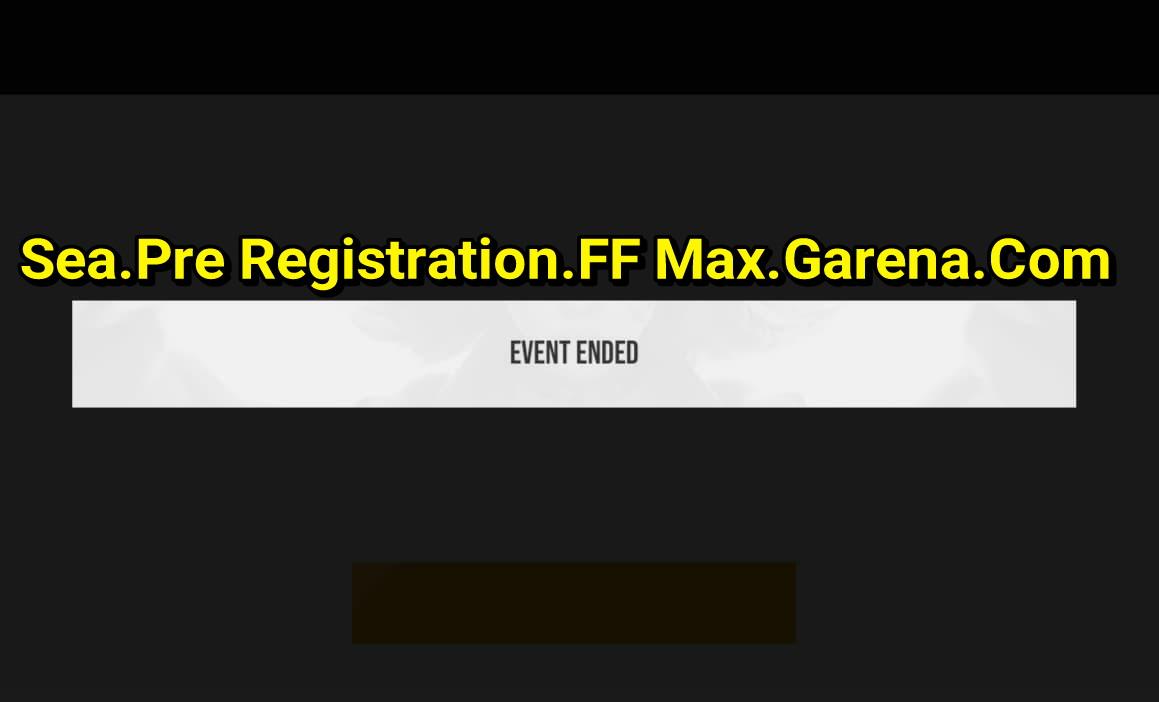 sea.pre registration.ff max.garena.com