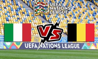 إيطاليا و بلجيكا بث مباشر