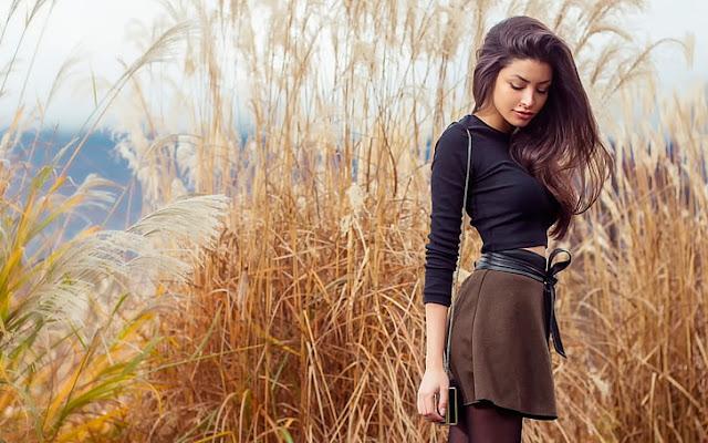 ब्यूटीफुल लड़की का फोटो