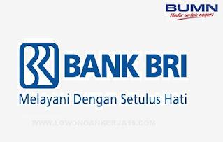 Lowongan Kerja Frontliner Bank BRI Lulusan SMA SMK D3 S1 Bulan Oktober 2021
