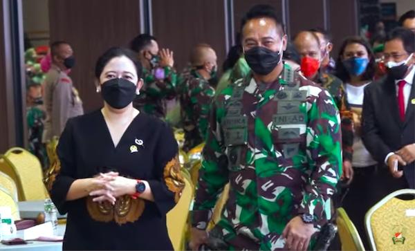 Skenario Baru: Letjen Dudung Panglima TNI, Jenderal Andika Dampingi Puan di Pilpres 2024