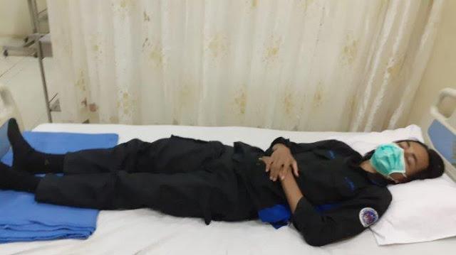 Dibanting Polisi Saat Demo, Mahasiswa UIN: Saya Gak Mati, Masih Hidup