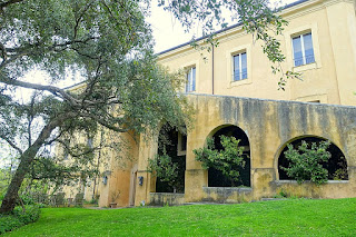 The house on the Torrecchia Vecchia estate where Caracciolo spent much of his time when not in Rome