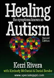 Healing the symptoms as Autism Kerri Rivera book