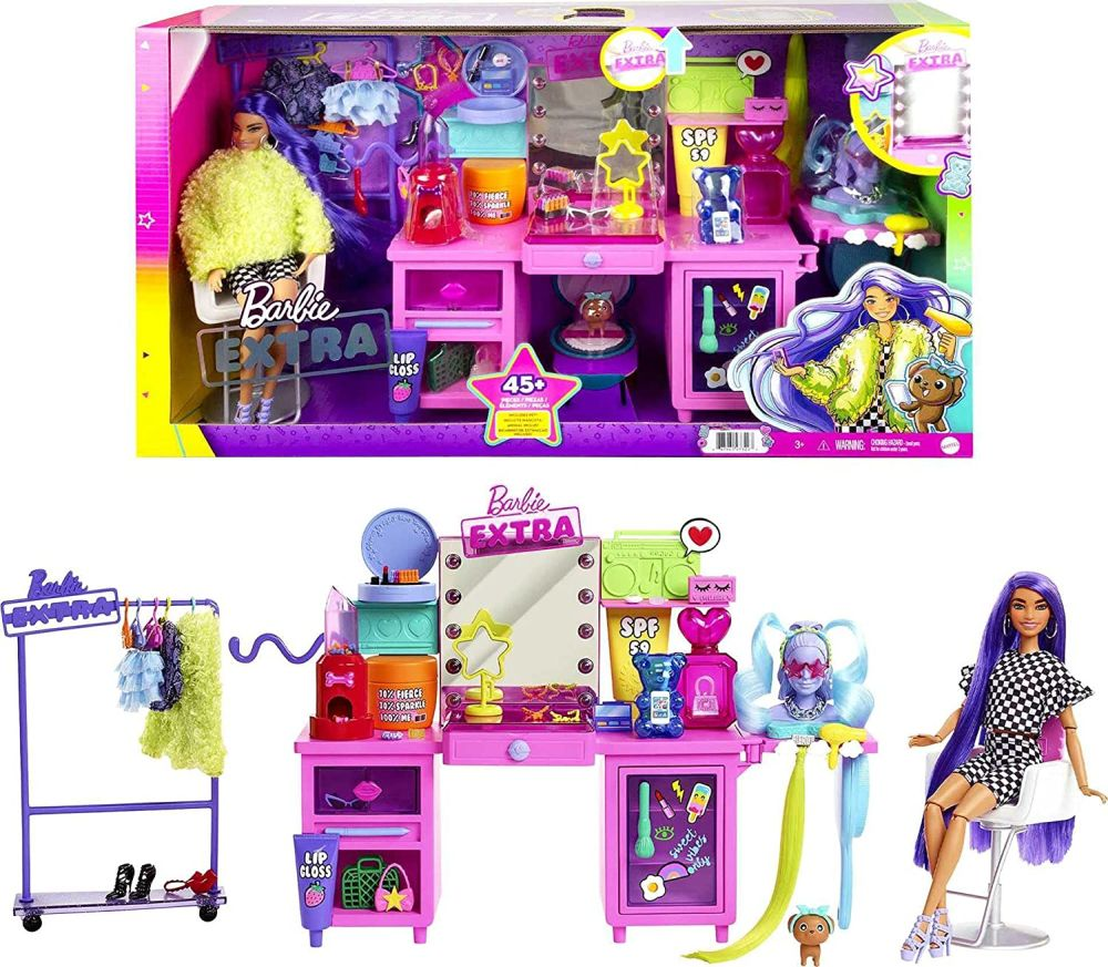 Barbie Extra Exclusive Doll Vanity Playset