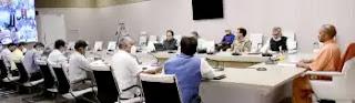 मुख्यमंत्री योगी ने वीडियो कॉन्फ्रेंसिंग के माध्यम से प्रदेश में विद्युत व्यवस्था की समीक्षा की